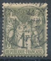 N°72  BEAU CACHET A DATE - 1876-1878 Sage (Type I)