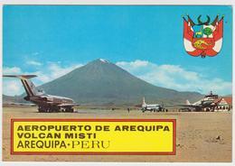 1080/ AREQUIPA, Peru. Aeropuerto (1971).airports Aeroporti Aéroports. Non écrite. Unused. No Escrita. Non Scritta. - Aérodromes