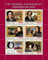 Sierra Leone  2018  Francisco De Goya Paintings   S201811 - Sierra Leone (1961-...)