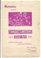 Program * Portugal * Nº6 * 1953 * Monumental * Às Portas Do Inferno - Programmi