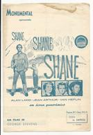 Program * Portugal * Nº9 * 1954 * Monumental * Shane - Programmi