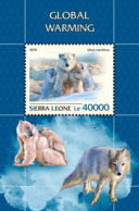 Sierra Leone  2018  Global Warming Fauna  S201811 - Sierra Leone (1961-...)