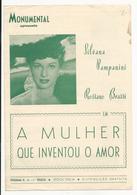 Program * Portugal * Nº15 * 1954 * Monumental * A Mulher Que Inventou O Amor - Programmi