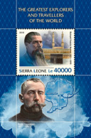 Sierra Leone 2018 The Greatest Explorers  S201811 - Sierra Leone (1961-...)