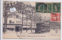 LYON- LE TRAMWAY PUB LIQUEUR BENEDICTINE DU BOULEVARD DE LA CROIX-ROUSSE - Autres