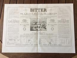 BITTER Absinthe LACAUX FRERES LIMOGES Vins DUHARD BORDES MOURGUES LA MAGISTERE Gille NANCY Fajardo Amer Canigou Llobet - Belgique