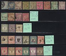 France Postage Due Stamps,Scott #J29-34,J35-9,J42-3,J45-8,J52-7,J59-63,J65,Catalog Value $85+ - Taxes