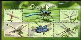 AUSTRALIA, 2017 DRAGONFLIES MINISHEET MNH - 2010-... Elizabeth II