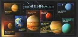 AUSTRALIA, 2015 SOLAR SYSTEM MINISHEET MNH - 2010-... Elizabeth II