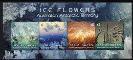 AAT, 2016 ICE FLOWERS MINISHEET MNH - Unused Stamps