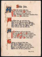 C0715 - Künstlerkarte - Spruchkarte - Brunnen Verlag Gießen Basel - Sin Clasificación