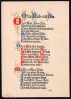 C0716 - Künstlerkarte - Spruchkarte - Brunnen Verlag Gießen Basel - Otros