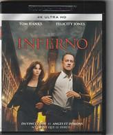 ULTRA HD  Inferno Avec TOM HANKS      Etat: TTB Port 110 Gr Ou 30 Gr - Crime