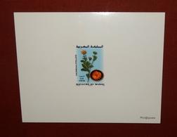 MAROKKO MOROCCO MARRUECOS  MAROC FLOWERS FLEURS EPREUVE DE LUXE ( DELUXE PROOF ) 2008 - Marruecos (1956-...)