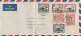 Uganda: 1960 To Stuttgart - Degerloch - Ouganda (1962-...)