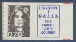 N° 6a Marianne Du Bicentenaire Adhésif Année 1994, Valeur Faciale 0,70 F+ Vignette - France