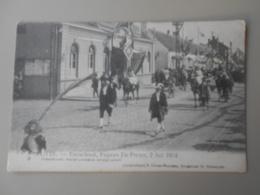 BELGIQUE ANVERS PUTTE FEUWFEEST,EUGEEN DE PRETER, 2 JULI 1914 PRAALSTOET KAREL LINNOEUS EN ZIJN ZOON - Putte