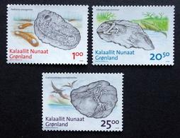 Greenland 2008    FOSSILS      Minr.512-14    MNH  ( ** ) ( Lot  F  1030) - Groenland