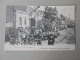 BELGIQUE ANVERS PUTTE FEUWFEEST,EUGEEN DE PRETER, 2 JULI 1914 PRAALSTOET DE BLOEMENWAGEN - Putte