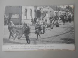 BELGIQUE ANVERS PUTTE FEUWFEEST,EUGEEN DE PRETER, 2 JULI 1914 PRAALSTOET HET AMBACHT DER BEENHOUWERS - Putte