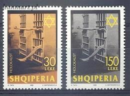 Albania 1999 Mi 2700-2701 MNH ( ZE2 ALB2700-2701dav89A ) - Guerre Mondiale (Seconde)