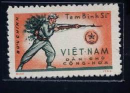 North Vietnam Viet Nam MNH Perf Stamp 1964 : Military Frank (Ms147) - Vietnam