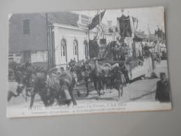 BELGIQUE ANVERS PUTTE FEUWFEEST,EUGEEN DE PRETER, 2 JULI 1914 PRAALSTOET DE LANDBOUW H. ISIDORUS PATROON ... - Putte