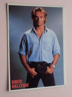 David HALLYDAY ( 1218 - Made In E.E.C. ) Anno 19?? ( See/zie/voir Photo ) ! - Chanteurs & Musiciens