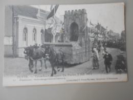 BELGIQUE ANVERS PUTTE FEUWFEEST,EUGEEN DE PRETER, 2 JULI 1914 PRAALSTOET HEDENDAAGSCHESTEENBAKKERIJ - Putte