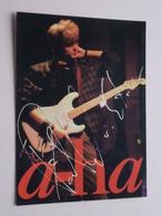 A-HA ( Reflex ) Anno 1986 ( See/zie/voir Photo ) ! - Chanteurs & Musiciens
