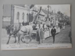 BELGIQUE ANVERS PUTTE FEUWFEEST,EUGEEN DE PRETER, 2 JULI 1914 PRAALSTOET BAKKERS EN MOLENAARS IN FEEST - Putte