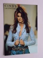 Cindy CRAWFORD ( Heroes London ) Anno 19?? ( See/zie/voir Photo ) ! - Mujeres Famosas