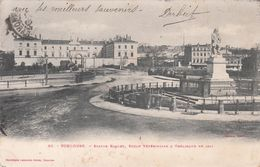 Cp , 31 , TOULOUSE , Statue Riquet, École Vétérinaire & Obélisque De 1814 - Toulouse