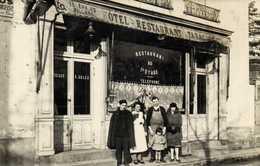 CARTE PHOTO HOTEL  RESTAURANT TABAC   E Salles Telephone Billard à Situer RV - Photographs