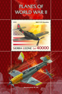 Sierra Leone 2018 Planes Of WWII  S201811 - Sierra Leone (1961-...)