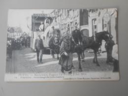 BELGIQUE ANVERS PUTTE FEUWFEEST,EUGEEN DE PRETER, 2 JULI 1914 PRAALSTOET HEDENDAAGSCHE SUIKERBAKKERIJ - Putte