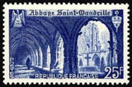 France N°  842 ** Site Et Monument - Abbaye De Sainte Wandrille - France