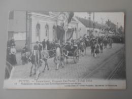 BELGIQUE ANVERS PUTTE FEUWFEEST,EUGEEN DE PRETER, 2 JULI 1914 PRAALSTOET GROEP VAN HET KONINKLIJK STAMHUIS VAN BELGIE - Putte