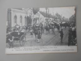 BELGIQUE ANVERS PUTTE FEUWFEEST,EUGEEN DE PRETER, 2 JULI 1914 PRAALSTOET GROEP DER NEGEN PROVINCIEN - Putte