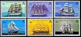 "BERMUDA  ""TALL SHIPS ""  SET   MNH            SHIPS - Bermudes"