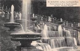 Saint-Cloud Le Parc - Les Grandes Eaux - Partie Intérieure De La Grande Cascade - Non Circulé - Saint Cloud