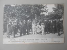 BELGIQUE ANVERS PUTTE FEUWFEEST,EUGEEN DE PRETER, 2 JULI 1914 DE PLECHTIGE PLANTING VAN DEN GEDENKBOOM - Putte