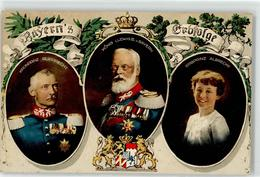 52420772 - Bayerns Erbfolge - Kronprinz Rupprecht - Koenig Ludwig III. V. Bayern - Erbprinz Albrecht - Königshäuser