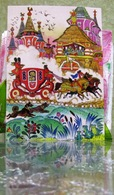 "Russian Folk Tale ""Frog Princess""/ Coach Terem Art Modern Russian Postcard By Kochergin - Fairy Tales, Popular Stories & Legends"