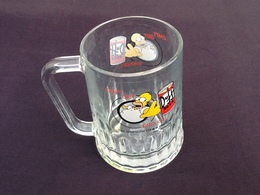 """Chope Bière """" Collector """"  Homer The Simpsons  Can' T Get Enought  (1997) - Glasses"""