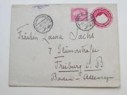 1910 , Ganzsache Aus QUBBA PALACE  Nach Deutschland - Égypte