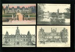 Lot De 60 Cartes Postales De France Seine Et Marne Fontainebleau  Lot Van 60 Postkaarten Van Frankrijk ( 77 ) - 60 Scans - Cartes Postales