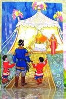 "Russian Folk Tale ""Tale Of Rejuvenating Apples""/ Tent ChildrenBeautiful Princes Art Modern Russian Postcard By Kochergin - Fairy Tales, Popular Stories & Legends"
