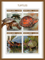 Sierra Leone 2018 Turtles  Fauna  S201811 - Sierra Leone (1961-...)