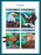 Sierra Leone 2018 Eagles  Fauna  S201811 - Sierra Leone (1961-...)